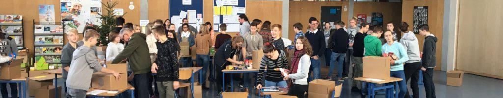"""Spendenaktion für """"Pro Humanitate"""" am Gymnasium Engen"""