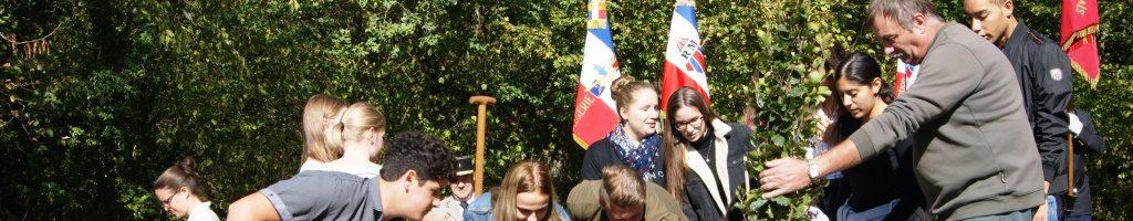 Friedensfahrt der 10b ins Elsass mit unserem Bildungspartner